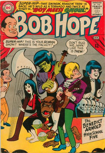 Cover for The Adventures of Bob Hope (DC, 1950 series) #96