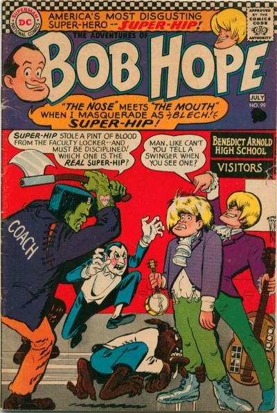Cover for The Adventures of Bob Hope (DC, 1950 series) #99