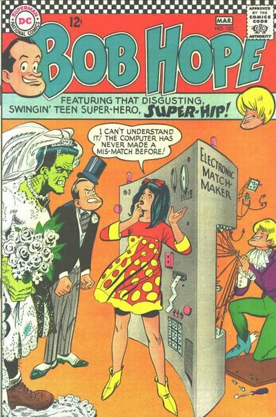 Cover for The Adventures of Bob Hope (DC, 1950 series) #103