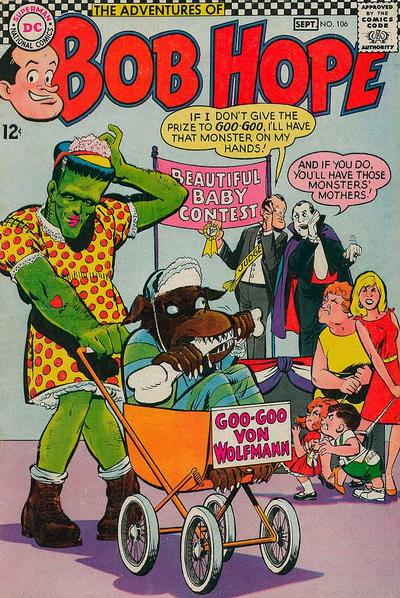 Cover for The Adventures of Bob Hope (DC, 1950 series) #106