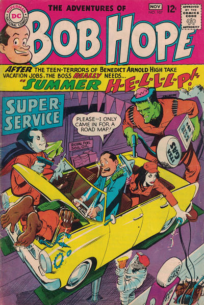 Cover for The Adventures of Bob Hope (DC, 1950 series) #107