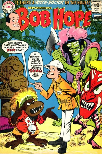 Cover for The Adventures of Bob Hope (DC, 1950 series) #109