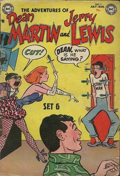 Cover for The Adventures of Dean Martin & Jerry Lewis (DC, 1952 series) #7