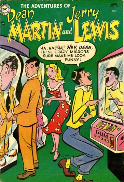 Cover for The Adventures of Dean Martin & Jerry Lewis (DC, 1952 series) #15