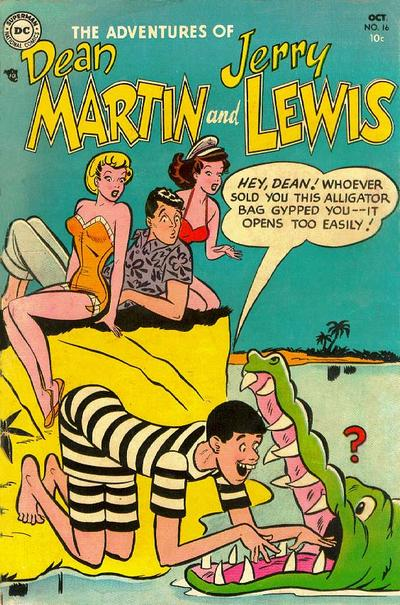 Cover for The Adventures of Dean Martin & Jerry Lewis (DC, 1952 series) #16