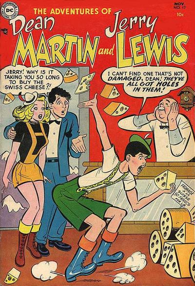 Cover for The Adventures of Dean Martin & Jerry Lewis (DC, 1952 series) #17