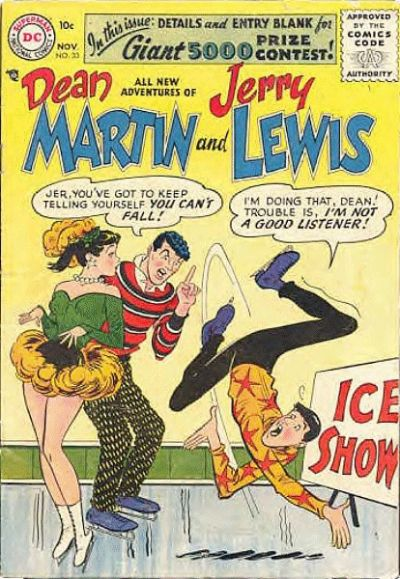 Cover for The Adventures of Dean Martin & Jerry Lewis (DC, 1952 series) #33