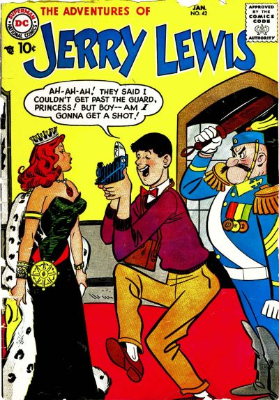 Cover for The Adventures of Jerry Lewis (DC, 1957 series) #42