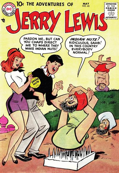 Cover for The Adventures of Jerry Lewis (DC, 1957 series) #45