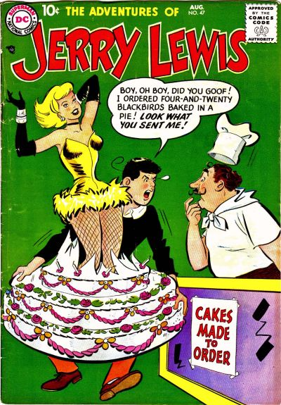 Cover for The Adventures of Jerry Lewis (DC, 1957 series) #47
