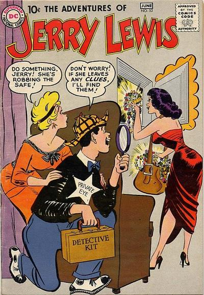 Cover for The Adventures of Jerry Lewis (DC, 1957 series) #52