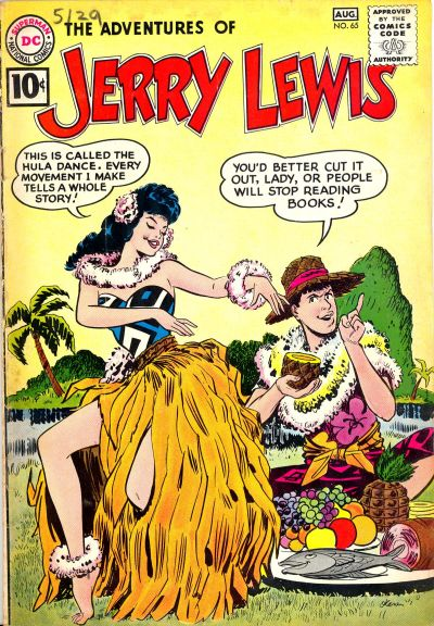 Cover for The Adventures of Jerry Lewis (DC, 1957 series) #65