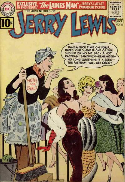 Cover for The Adventures of Jerry Lewis (DC, 1957 series) #66