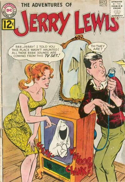 Cover for The Adventures of Jerry Lewis (DC, 1957 series) #72