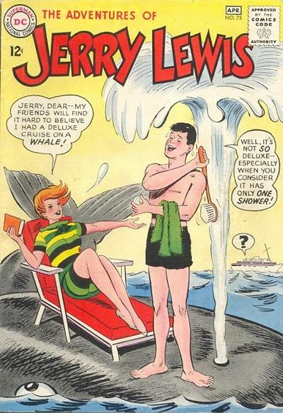 Cover for The Adventures of Jerry Lewis (DC, 1957 series) #75