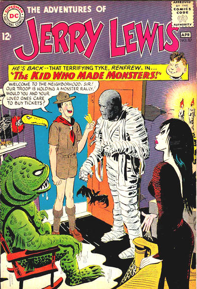 Cover for The Adventures of Jerry Lewis (DC, 1957 series) #87