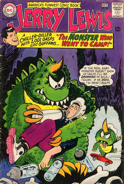 Cover for The Adventures of Jerry Lewis (DC, 1957 series) #90