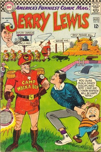 Cover for The Adventures of Jerry Lewis (DC, 1957 series) #95