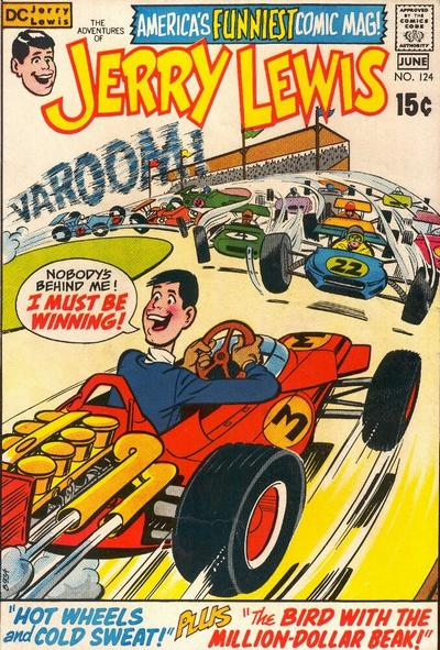 Cover for The Adventures of Jerry Lewis (DC, 1957 series) #124