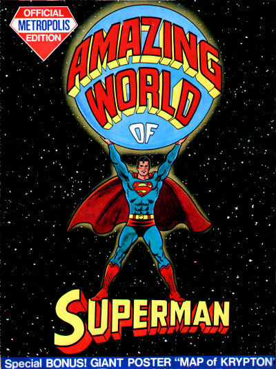 Cover for The Amazing World of Superman, Metropolis Edition (DC, 1973 series)