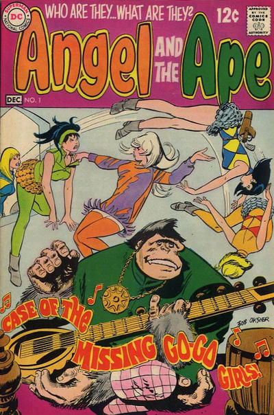 Cover for Angel and the Ape (DC, 1968 series) #1