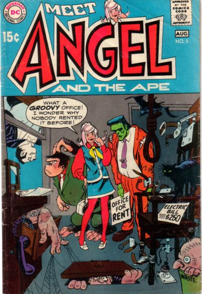 Cover for Angel and the Ape (DC, 1968 series) #5