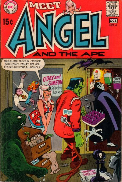 Cover for Angel and the Ape (DC, 1968 series) #6