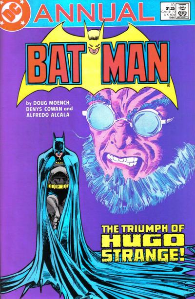 Cover for Batman Annual (DC, 1961 series) #10