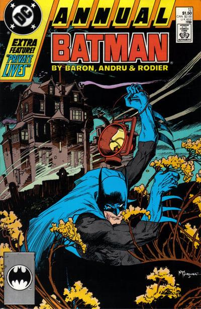 Cover for Batman Annual (DC, 1961 series) #12