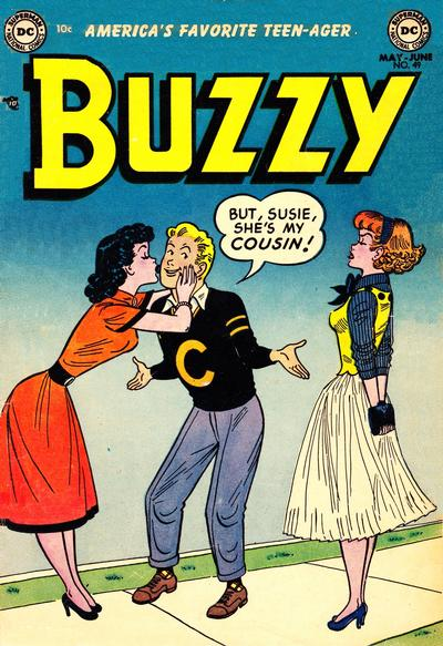 Cover for Buzzy (DC, 1944 series) #49