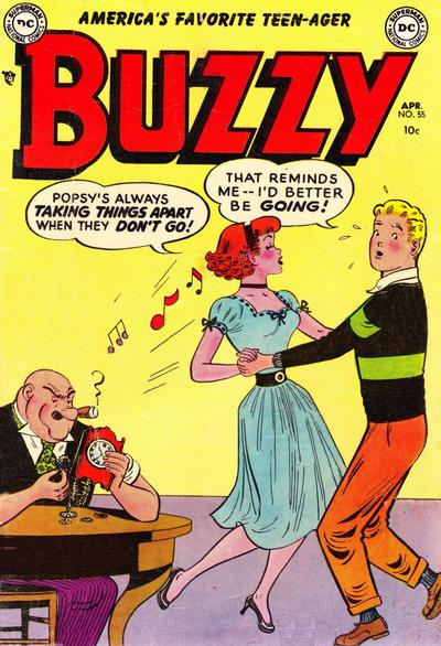 Cover for Buzzy (DC, 1944 series) #55