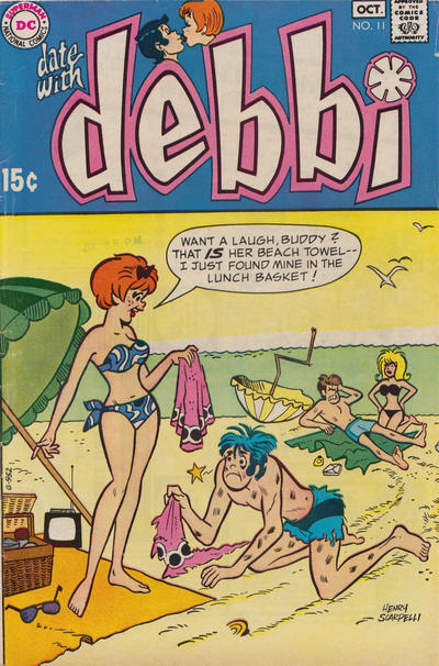 Cover for Date with Debbi (DC, 1969 series) #11