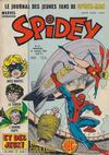 Cover for Spidey (Editions Lug, 1979 series) #12