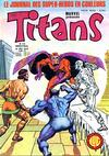 Cover for Titans (Editions Lug, 1976 series) #20
