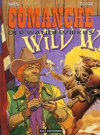 Cover Thumbnail for Comanche (Kult Editionen, 1998 series) #13 - Der Wanderzirkus