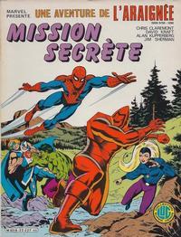 Cover Thumbnail for Une Aventure de l'Araignée (Editions Lug, 1977 series) #22