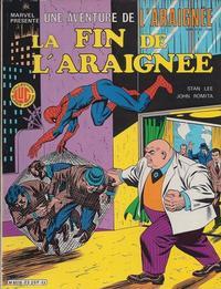 Cover Thumbnail for Une Aventure de l'Araignée (Editions Lug, 1977 series) #23