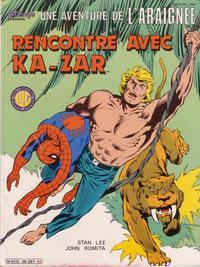 Cover Thumbnail for Une Aventure de l'Araignée (Editions Lug, 1977 series) #26