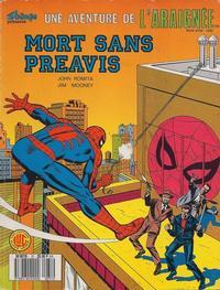 Cover Thumbnail for Une Aventure de l'Araignée (Editions Lug, 1977 series) #31