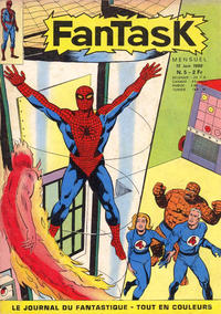 Cover Thumbnail for Fantask (Editions Lug, 1969 series) #5