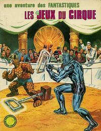 Cover Thumbnail for Une Aventure des Fantastiques (Editions Lug, 1973 series) #13
