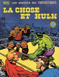 Cover Thumbnail for Une Aventure des Fantastiques (Editions Lug, 1973 series) #20