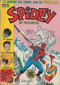 Cover Thumbnail for Spidey (Editions Lug, 1979 series) #4