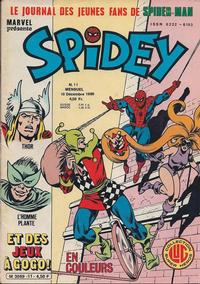 Cover Thumbnail for Spidey (Editions Lug, 1979 series) #11