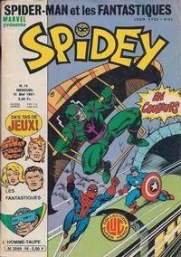 Cover Thumbnail for Spidey (Editions Lug, 1979 series) #16