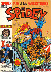 Cover Thumbnail for Spidey (Editions Lug, 1979 series) #18