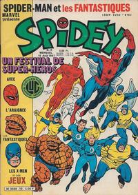Cover Thumbnail for Spidey (Editions Lug, 1979 series) #19
