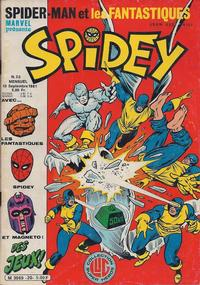 Cover Thumbnail for Spidey (Editions Lug, 1979 series) #20