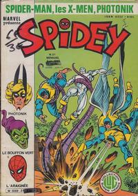 Cover Thumbnail for Spidey (Editions Lug, 1979 series) #31