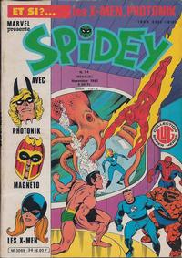 Cover Thumbnail for Spidey (Editions Lug, 1979 series) #34
